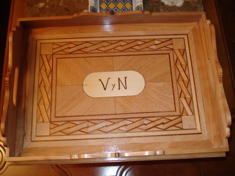 Bandejas archivos el taller de martin - Bandeja de madera ...