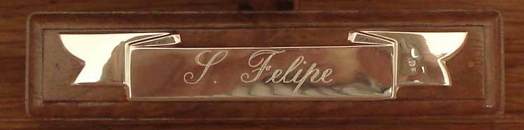 Placa del San Felipe