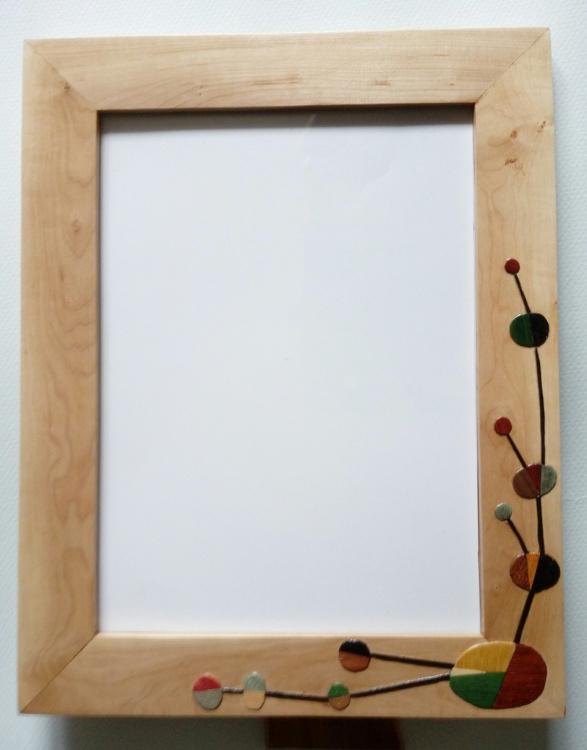 Portarretratos de espino común (anverso)